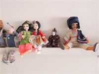 Large Lot of Various Dolls