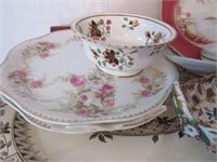 Grouping of Various Porcelain Serving Platters and
