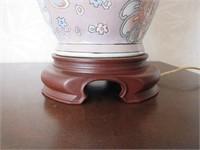 Funky Paisley Oriental Motif Lamps