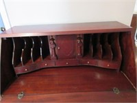 Early Claw Footed Bankers Secretary Desk