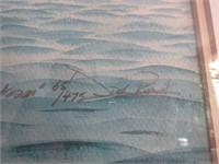 "Watercolour Litho Titled ""Sam's Dream"""