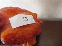 Interesting Hand Sculpted Wax Hawk Figurine