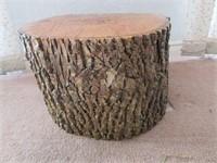 Refinished Rustic Tree Stump Slab