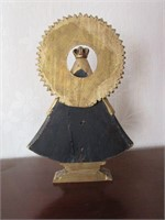 Early Wooden Religious Figurine