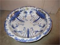 Vintage W.W.R & CO. Porcelain Washbasin Bowl
