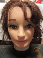 Vintage FIRST LADY Mannequin Head with Wig