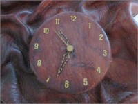 Interesting Folded Leather Wall Clock