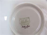 "Porcelain SHELLEY ""Pole Star"" Tea Cup and Saucer"
