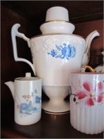 Grouping of Porcelain Tea Pots