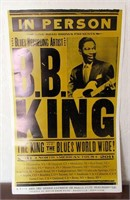 2011 B.B. KING North American Tour Poster