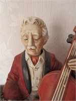 Porcelain MELODY IN MOTION Musical Figurine