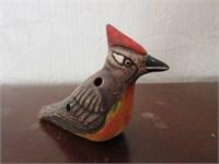 Handpainted Ceramic Bird Whistle