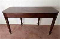 Vintage Mahogany Flat to Wall Parlour Table