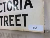 Toronto Daily Star Steel Sign