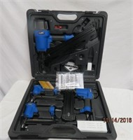 Campbell Hausfeld air nailing kit with 4 nailers