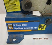 "Power fisst 6"" metal shear"