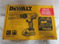 DEWalt compact drill driver set 20V Max