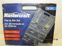Mastercraft Tap & Die Set 76 pieces
