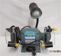 """King Canada 6"""" bench grinder with lamp 1/2 hp"""