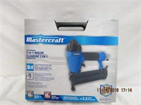 Mastercraft Air-Powered 2 - in - 1 nailer