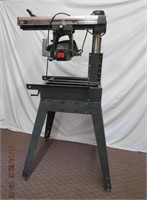 """Craftsman 10"""" radial arm saw with stand"""