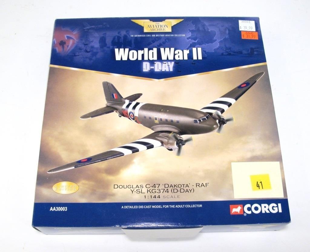 Corgi Douglas C-47