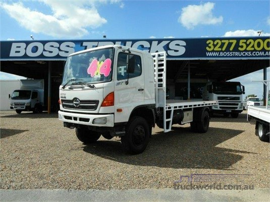 2007 Hino 500 Series 1322 GT 4x4 Trucks for Sale