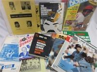 Vintage Sports Magazine Hockey-Baseball