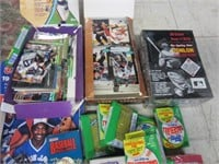 Large Lot of Sports Cards and Collectables