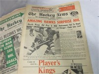 Vintage Hockey News and Other Papers