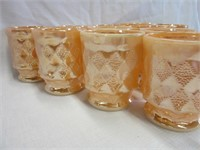 Grouping of Marigold FIREKING Mugs