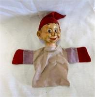 Vintage Dopey Snow White Hand Puppet