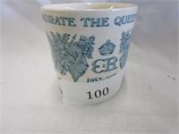Porcelain Commorative Royalty Queens Mug