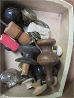 Lot of Various Antique Door Handles and Hinges