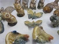 Grouping of TETLEY TEA Figurines