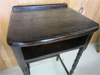 Early Refinished Desk/Side Table