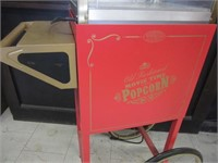 Old Fashioned Movie Time Popcorn Machine