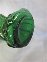Funky Green Hawk Bottle
