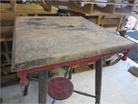 Antique Wooden Prayer Table
