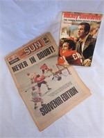 1972 Team Canada Newspaper and Magazine