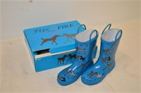 Child's Rubber Boots - Size 1