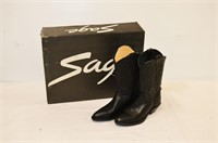 Sage Western Boots - Size 6 1/2