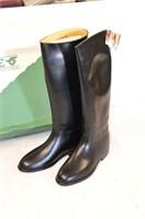 Aigle Black Riding Boots Size 9