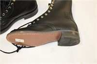 Canada West Black Leather Boots - Size 8.5