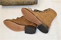 Laredo Leather Boots - Ladies Size 6