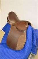 """Leather English Saddle 15"""""""