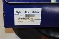 Cavalier Black Leather Boots - Ladies Size 8