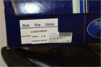 Cavalier Black Leather Boots - Ladies Size 7.5