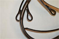 Bronco One Ear Headstall with Reigns