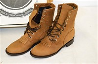 Dan Post Leather Boots - Ladies Size 8